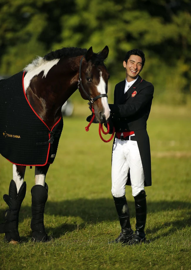 Chinese Equestrian Star Alex Hua Tian Joins the Revolution!