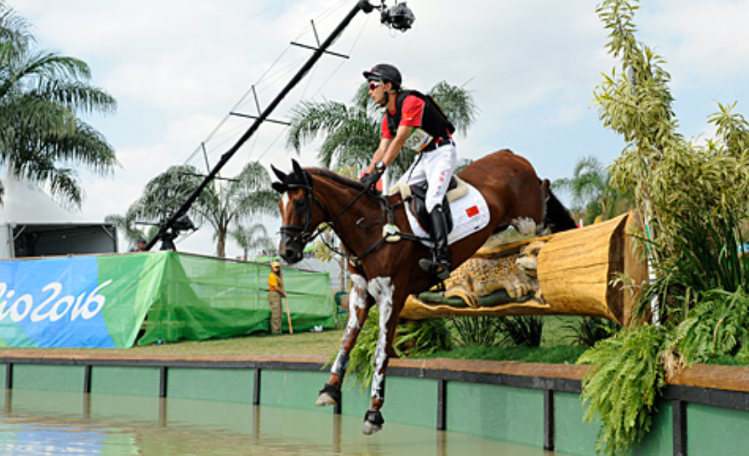 Chinese Equestrian Star Alex Hua Tian