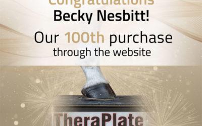 TheraPlate UK Milestone