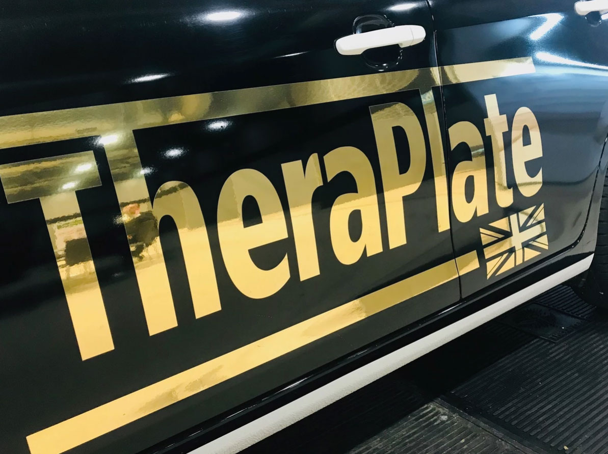 TheraPlate Car Branded