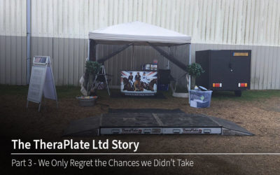 TheraPlate Ltd Story Part 3 – We only regret the chances we didn't take…